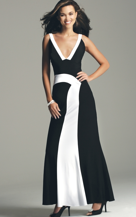 formal black and white dresses  Kjpwg.com