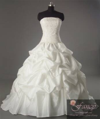wedding dress fancy